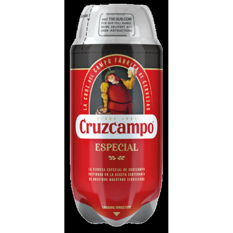 Cruzcampo Especial 5.6% TORP - 2L Keg