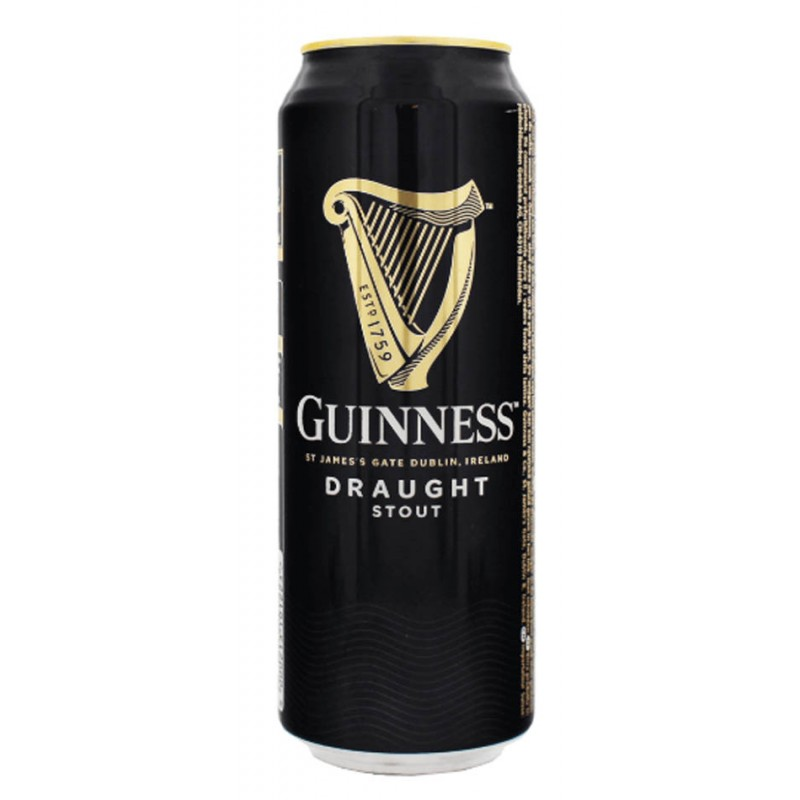 Guinness Draught 4.2° - Can 50cl