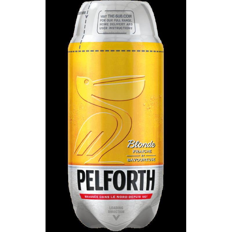 Pelforth Blonde 5.8% TORP - 2L Keg
