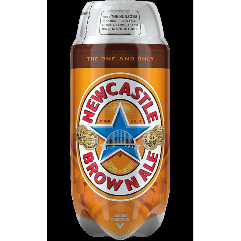 Newcastle Brown Ale 4.7% TORP - 2L Keg