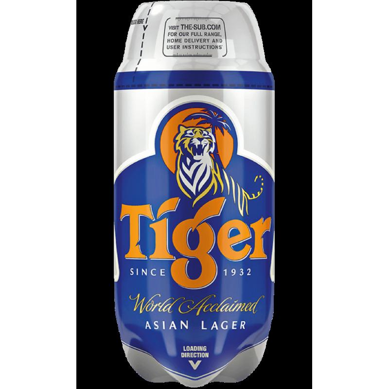 Tiger 4.8% TORP - 2L Keg